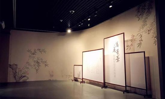 辽宁博物馆:明代文徵明《漪兰竹石图卷》首展全貌