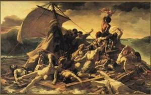 法国浪漫主义画家籍里柯的《梅杜莎之筏》