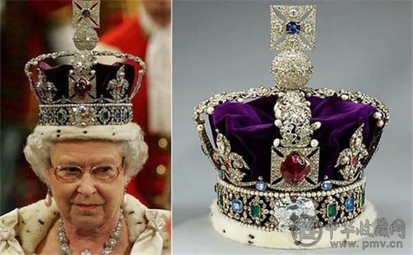 世界上最富有的女王 这些王冠都是艺术品 (4).jpg
