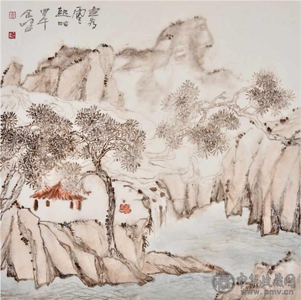 北京著名花鸟画家余峰做客中华收藏网 (4).png