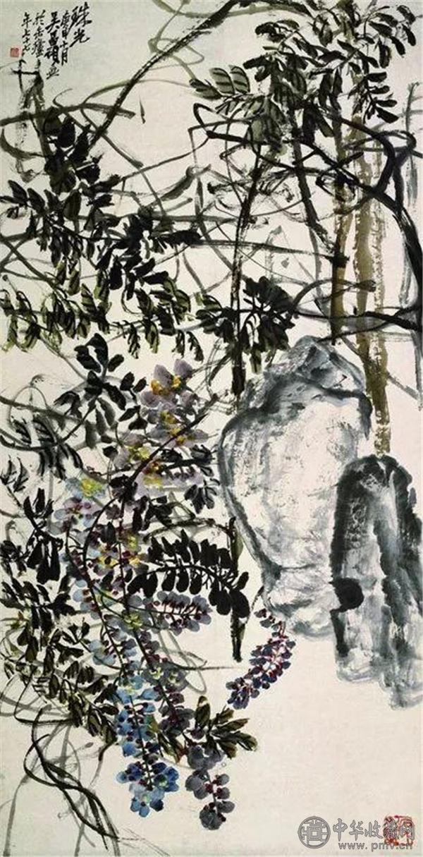 《珠光》,吴昌硕,77岁作品.jpg
