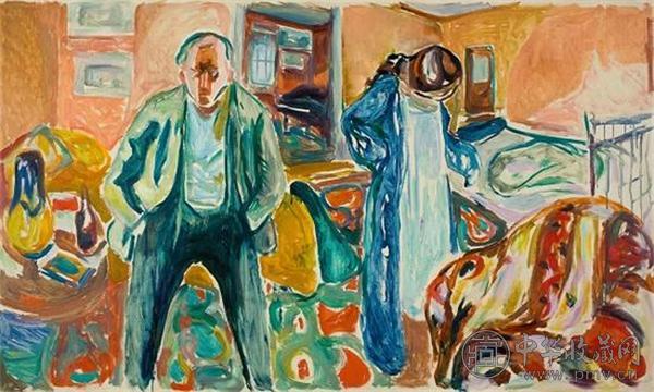 《艺术家和他的模特》(1919-1921).jpg