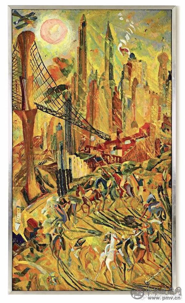 《工业之轮在纽约》 成交价:8378.86万元.jpg