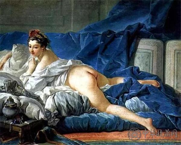 法国画家布雪作品《宫女》.jpg