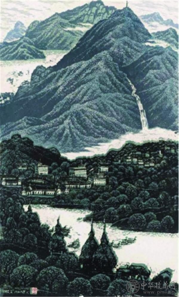 《山高水长》 2002年   罗映球 中国美术馆藏.jpg
