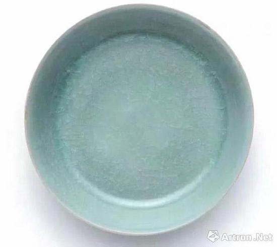 北宋汝窑天青釉洗 2.44亿元 香港蘇富比拍卖