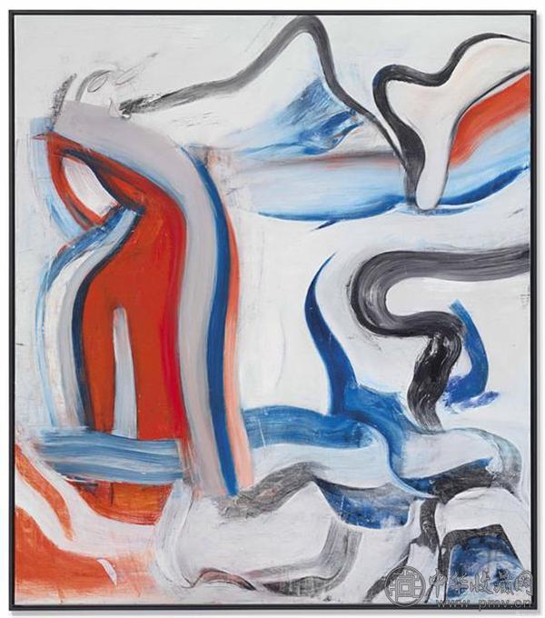 威廉-德-库宁《无题之十九》布面油画 203.2 x 177.8 cm 1982年.jpg