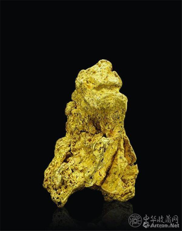 澳大利亚528克自然金,北京保利十二周年秋拍会获价26.45万元.jpg