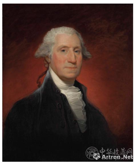 吉尔伯特·斯图亚特《乔治·华盛顿画像(沃恩型)》.png