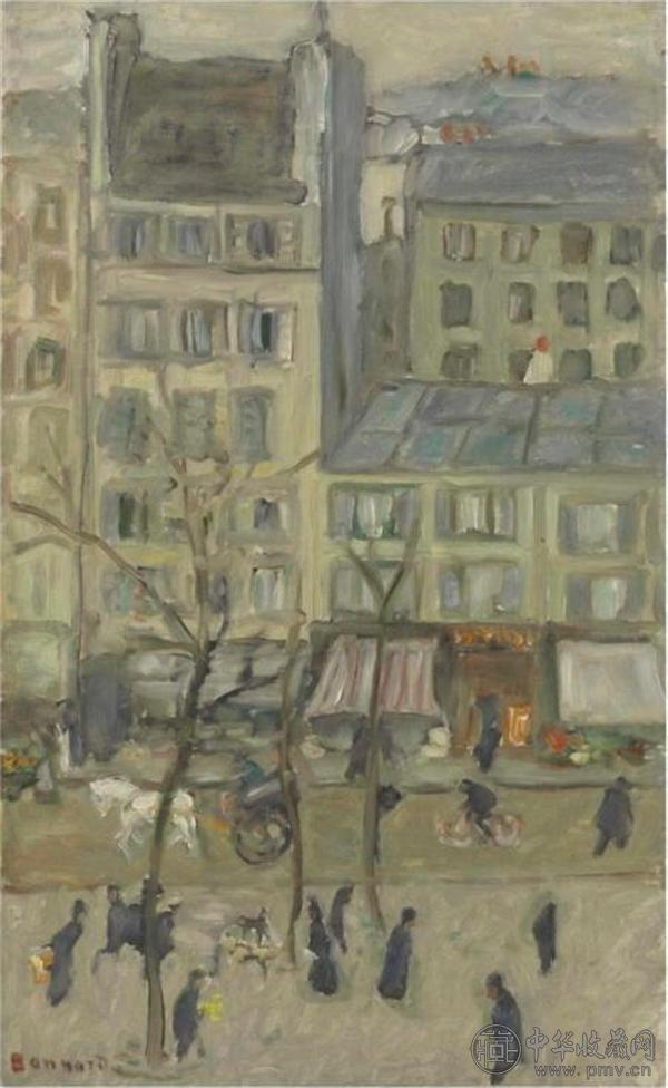 皮耶·伯纳尔,《Boulevard des Batignolles 》.jpg