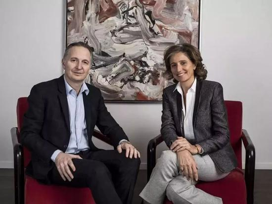 Lévy Gorvy画廊的Brett Gorvy 和Dominique Lévy