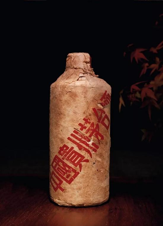 70年代初贵州茅台酒(棉纸包装葵花牌)   1瓶 540ml 1036g   RMB:RMB 140,300