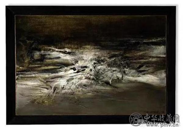 2017年香港苏富比秋拍中,赵无极1963年作品《09.01.63》以7603万港元成交.jpg