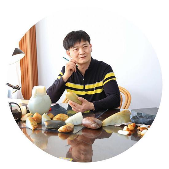 中国玉石雕刻大师 王金高