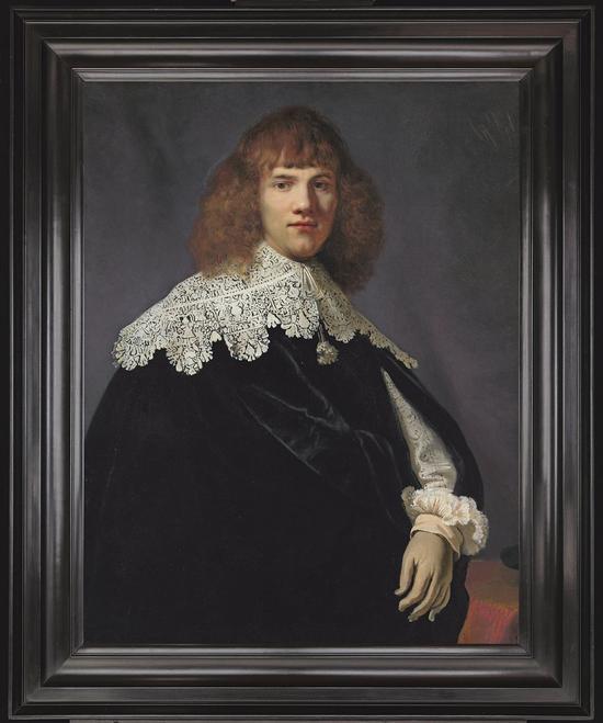 《年轻绅士的肖像》(Portrait of a Young Gentleman),约1634年