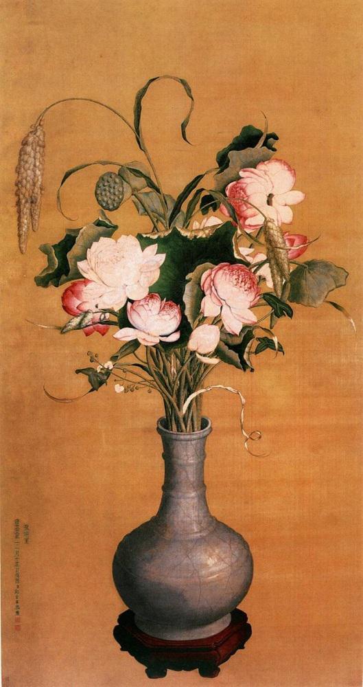 清 郎世宁 《聚瑞图》 上海博物馆藏