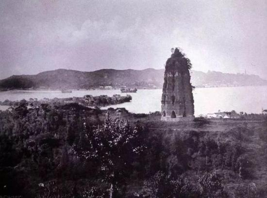 雷峰塔风景旧照
