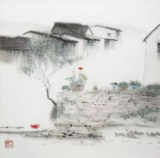 姚惠芬刺绣作品