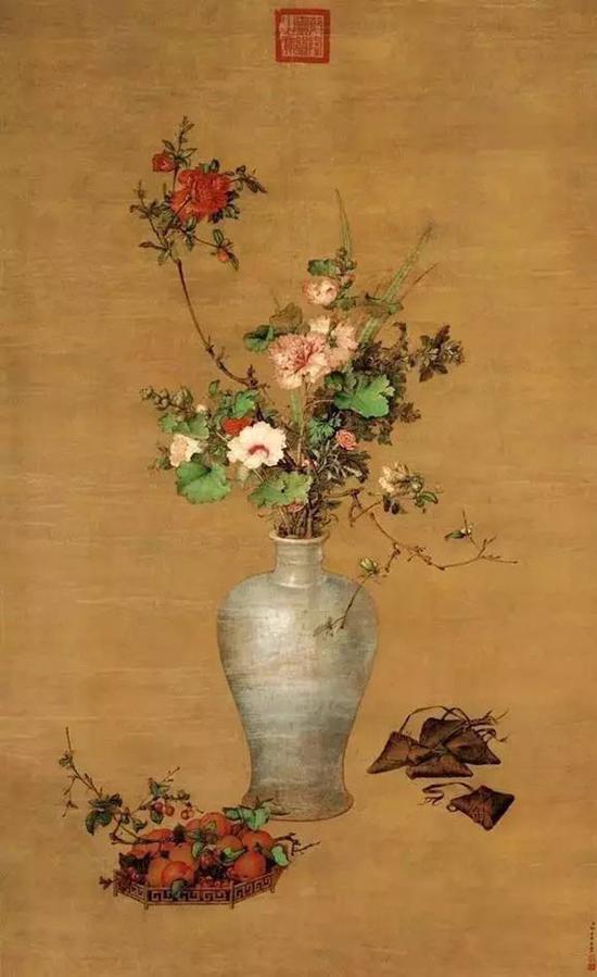 清 郎世宁 《午瑞图》 北京故宫博物院藏