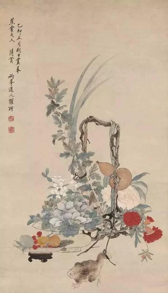 清 罗聘 端午图 1795年作