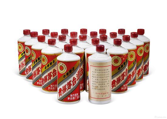 """1980-1982年""""金轮牌""""内销贵州茅台酒(三大革命)"""