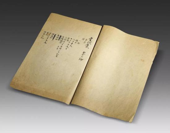 胡适 《尝试集》第二编手稿  918年写本  1册29页附出版物1册 纸本  24.2×14.7 cm  成交价:RMB 11,500,000