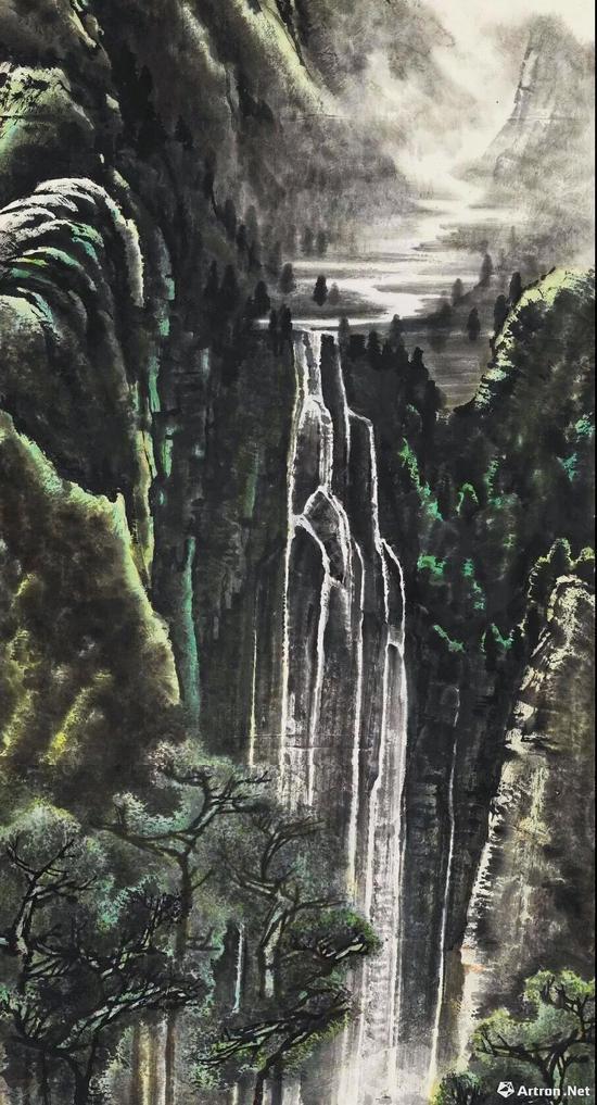 李可染《千岩竞秀万壑争流图》 1.265亿元 中国嘉德