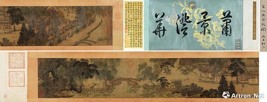 宋 佚名 《汉宫秋图》 1.242亿元 北京保利