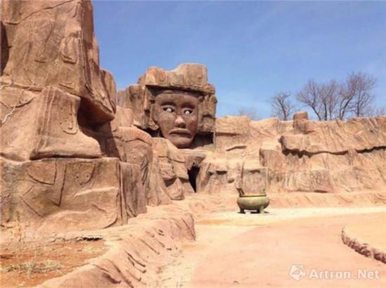 位于朝阳的红山文化遗址