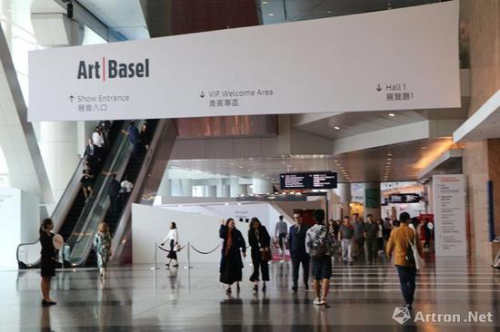 2018香港巴塞尔艺术展现场