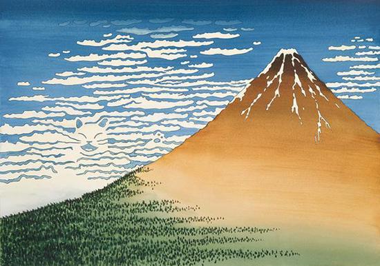 增村博《富岳三十六景·凯风快晴》(2009)
