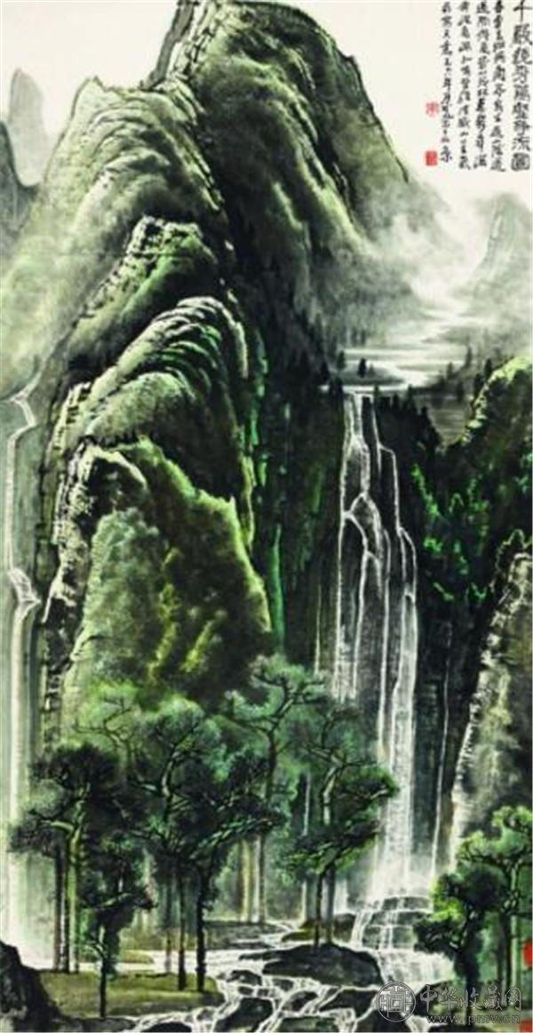 李可染《千岩竞秀万壑争流图》1.265亿元 中国嘉德.jpg