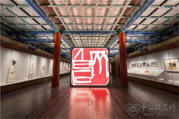 """故宫博物院""""清平福来——齐白石艺术特展""""展厅.jpg"""