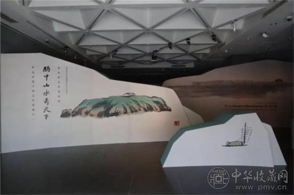 """北京画院美术馆""""胸中山水奇天下——齐白石笔下的山水意蕴之二""""特展展厅.jpg"""