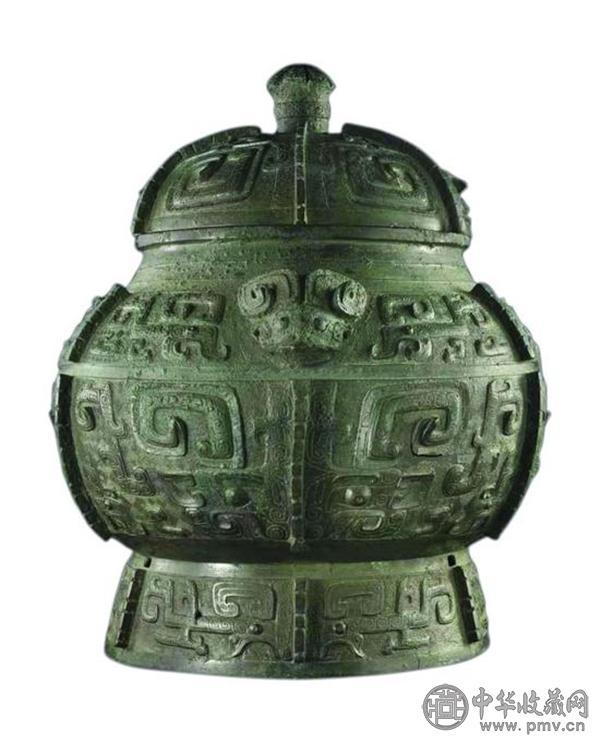 商晚期青铜饕餮纹瓿.jpg
