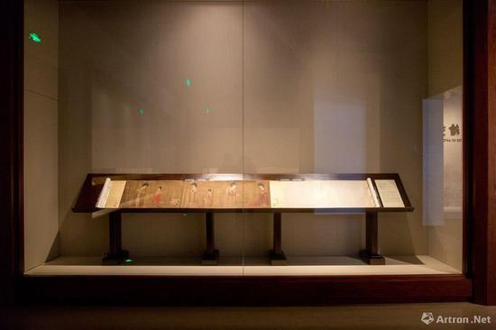 """辽宁省博物馆""""中国古代绘画馆""""展厅现场 行走的海风"""