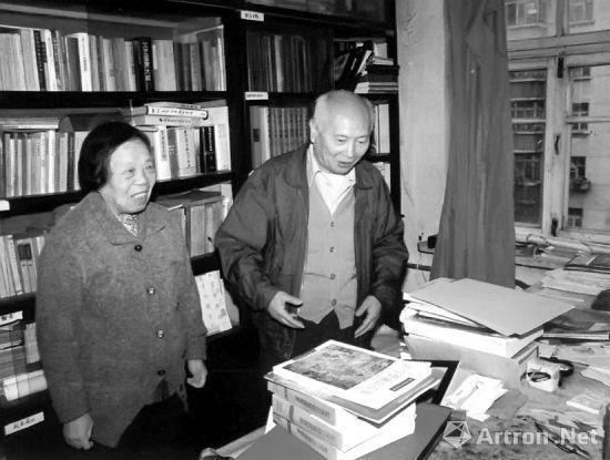 辽宁省博物馆名誉馆长, 书画鉴定家杨仁恺先生