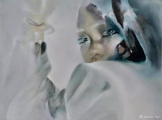 星空间 宋琨 《幻觉自画像》2018 布面油画 30×40cm