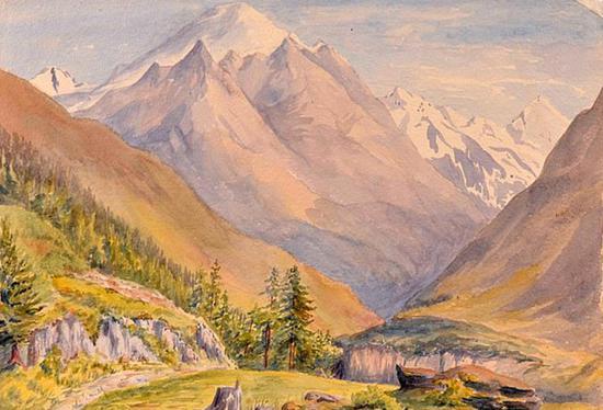 希特勒水彩画拍卖将被拍卖 可能包含自画像