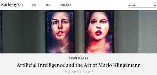 人工智能艺术品预估被拍3-4万英镑