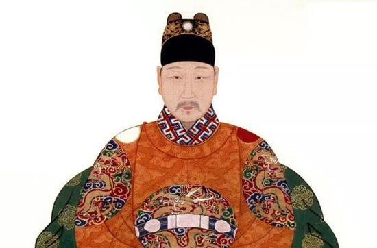 """明光宗朱常洛,年号泰昌,因在位仅一个月,故又被称为""""一月天子"""""""