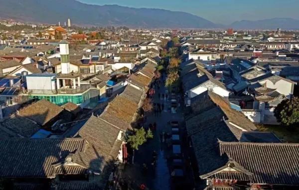 洪武年间新建的大理古城 云南省博物馆供图