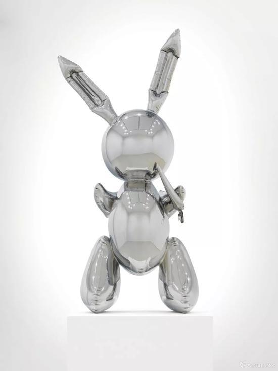 杰夫·昆斯《兔子》最终以6.26亿人民币拍卖成功