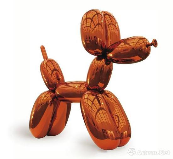 曾经创造在世艺术家最高价纪录的杰夫·昆斯《气球狗》