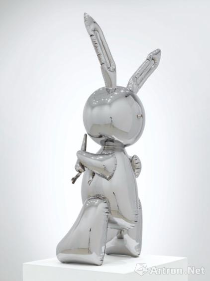 杰夫·昆斯《兔子》侧面