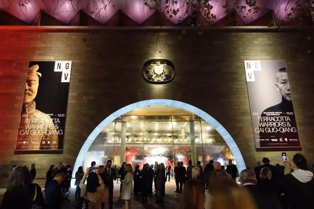 维多利亚州国立美术馆现场 摄影:张婧雅