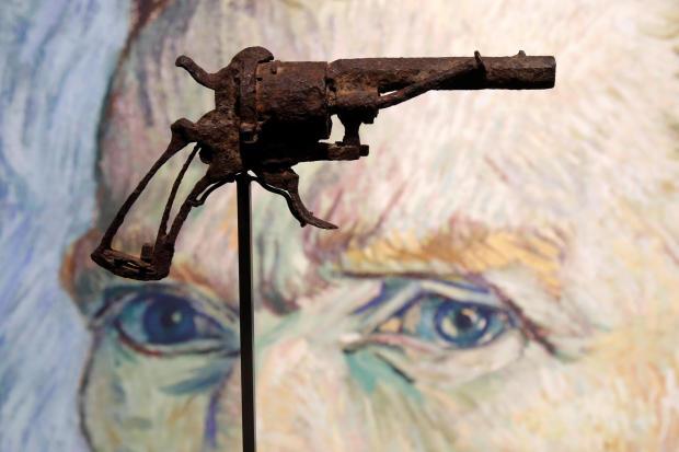 疑似梵高自杀的手枪排除16.25万欧元高价