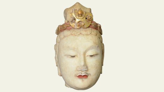 弥勒菩萨头像