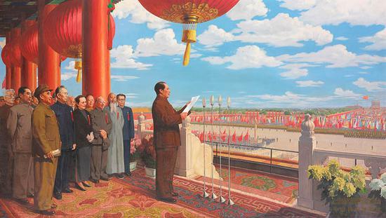 董希文,《开国大典》
