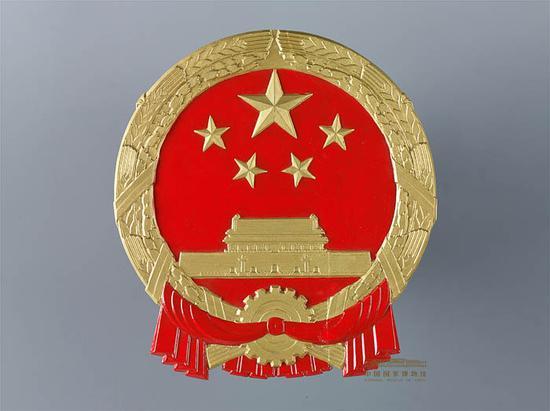 建国初期使用的国徽